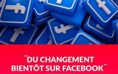 Le site Web du réseau social FACEBOOK connaîtra une évolution importante dans les prochaines semaines.